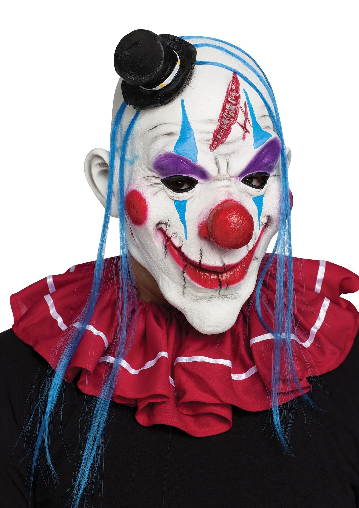 Разноцветная маска клоуна (UNI) костюм озорного клоуна 42 48