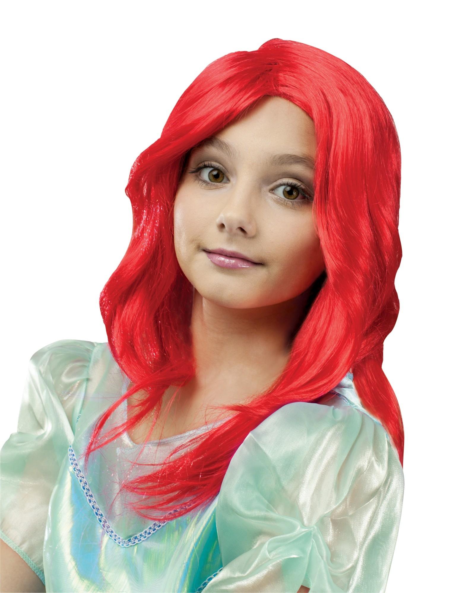 Красный детский парик (UNI) -  Парики и волосы
