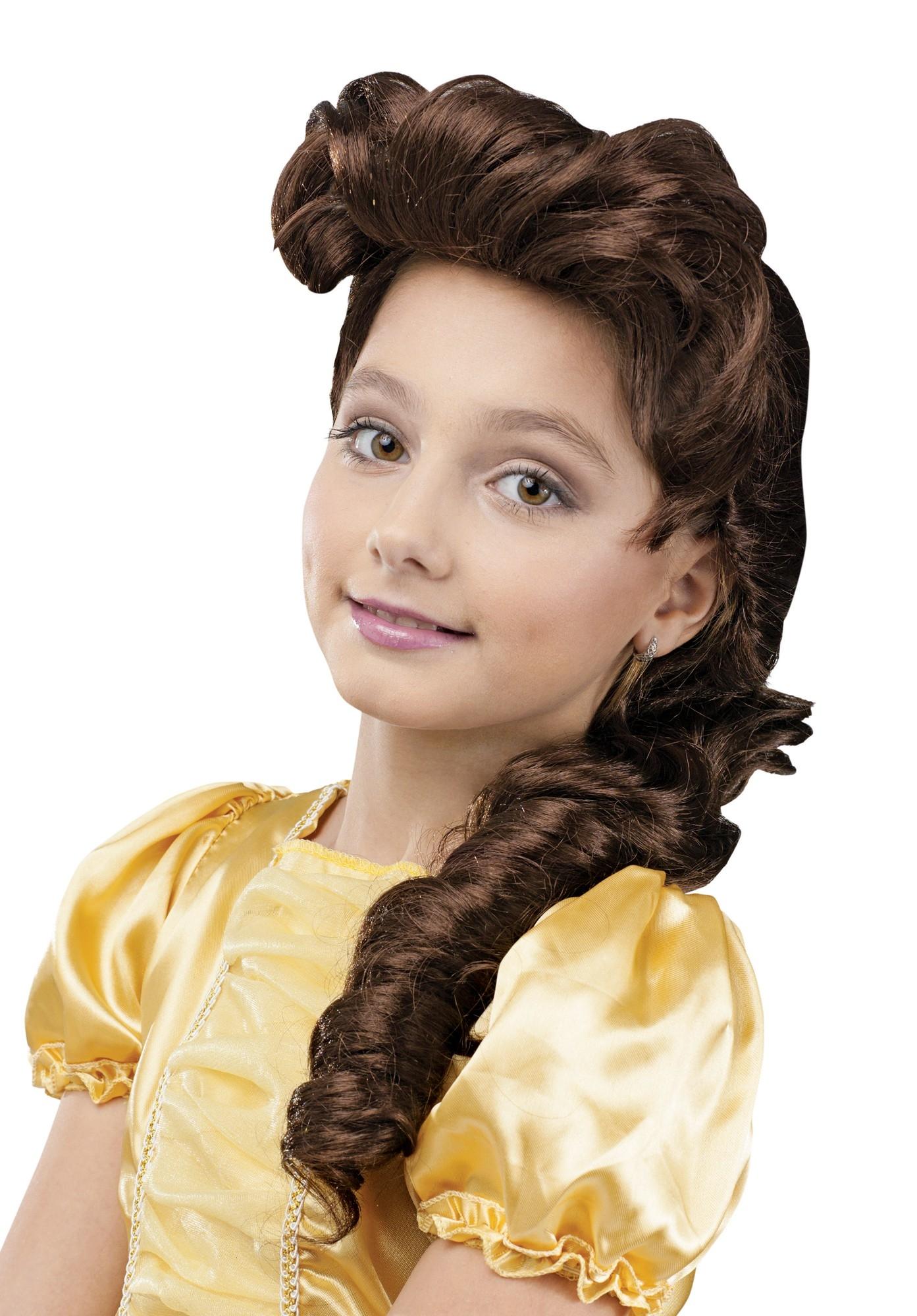 Детский парик Принцессы Бэлль (UNI) -  Парики и волосы