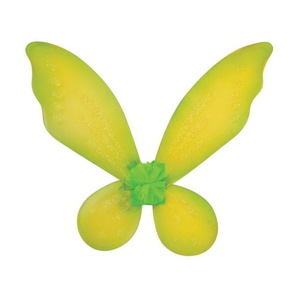 Желтые детские крылышки (UNI) -  Аксессуары на карнавал