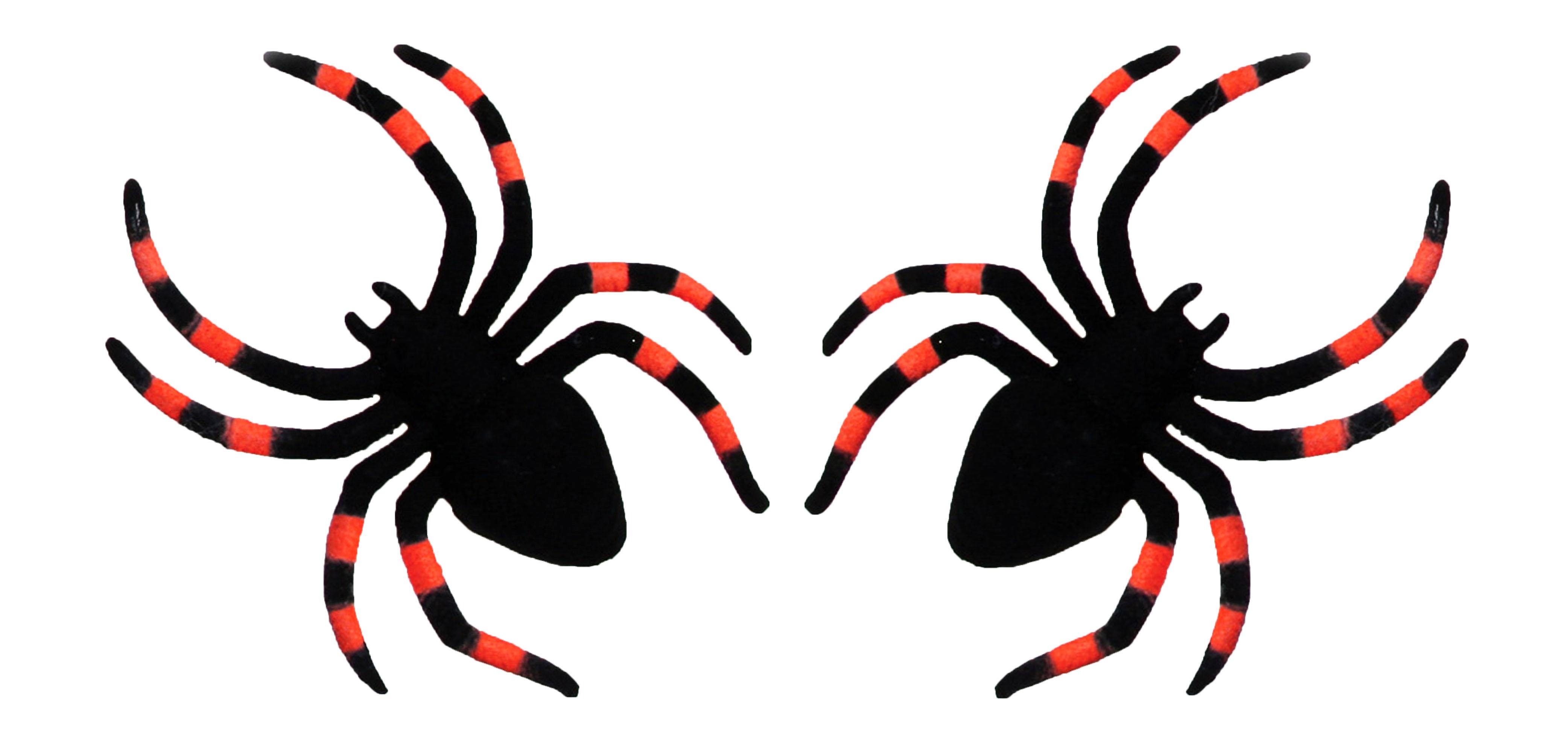 Два красно черных паука (UNI) -  Аксессуары на Хэллоуин