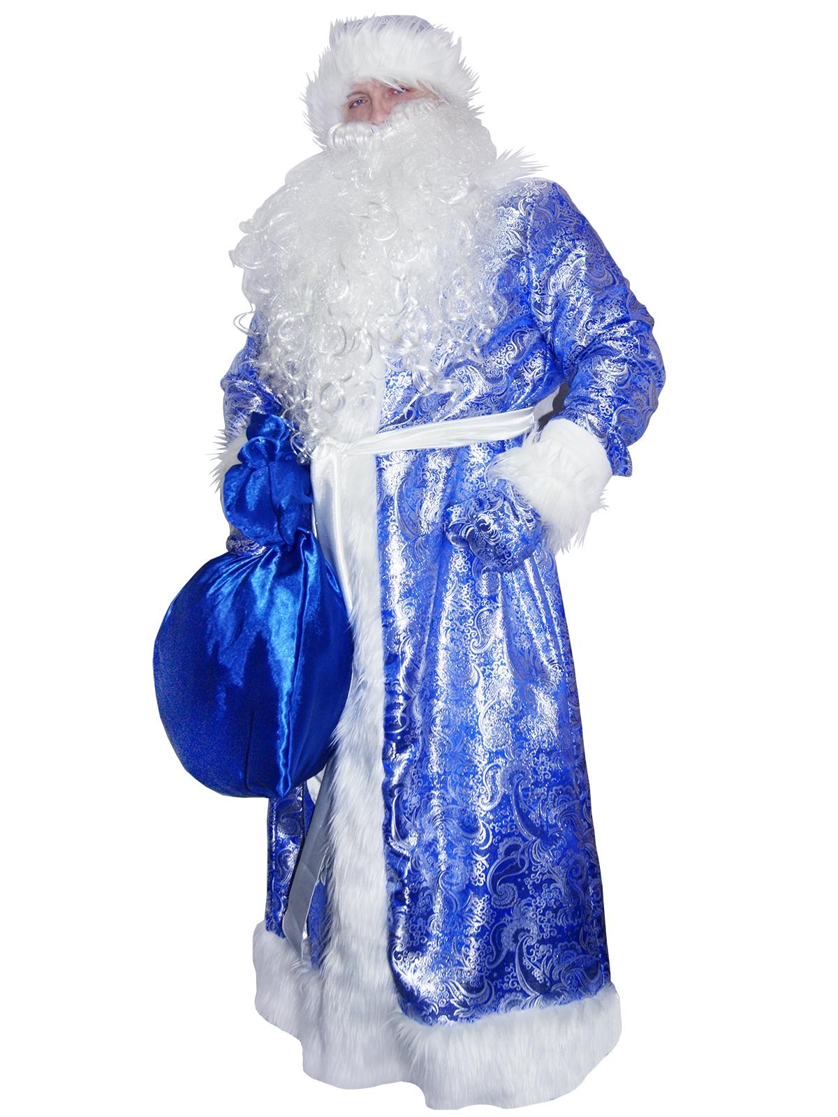 Костюм сказочного Дедушки Мороза (50-52) шубы
