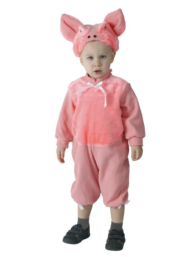 Детский костюм Поросенка (26-28) детский костюм озорного клоуна 34