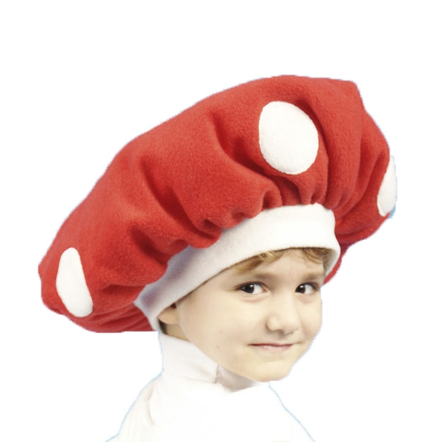 Детская шапка Мухомора (46) - Шляпы карнавальные, р.46