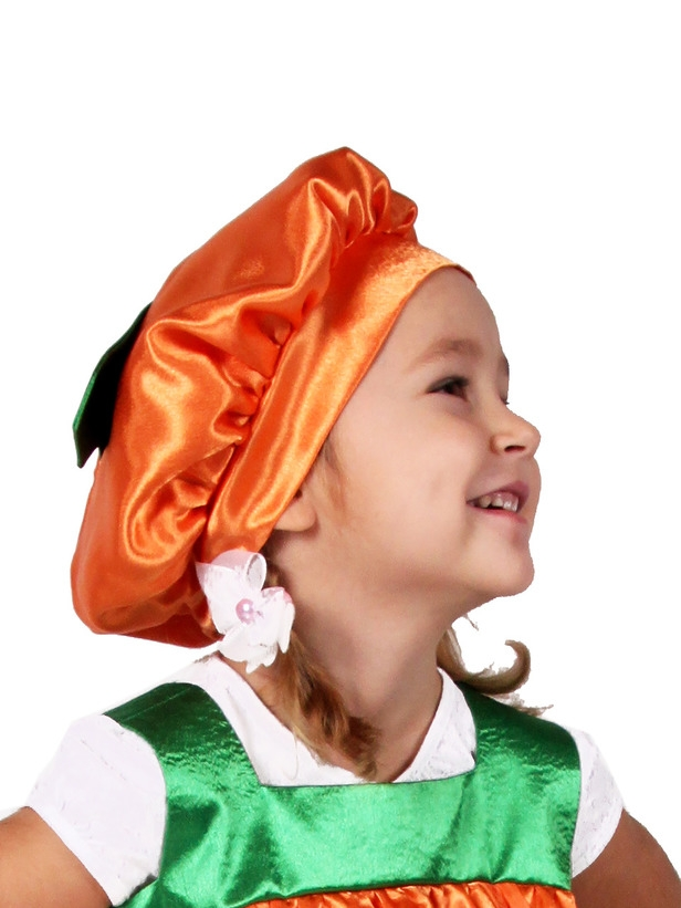 Детская шапочка Тыква (46) - Шляпы карнавальные, р.46