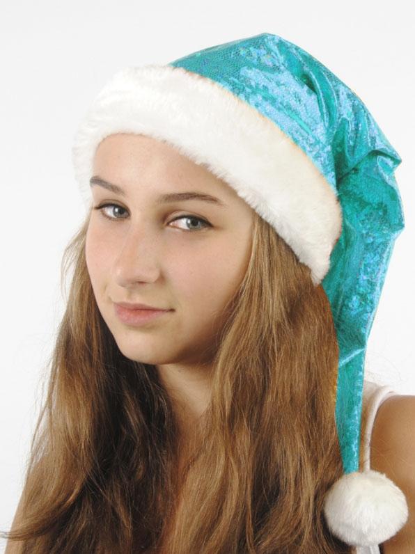 Голубой рождественский колпак (UNI)