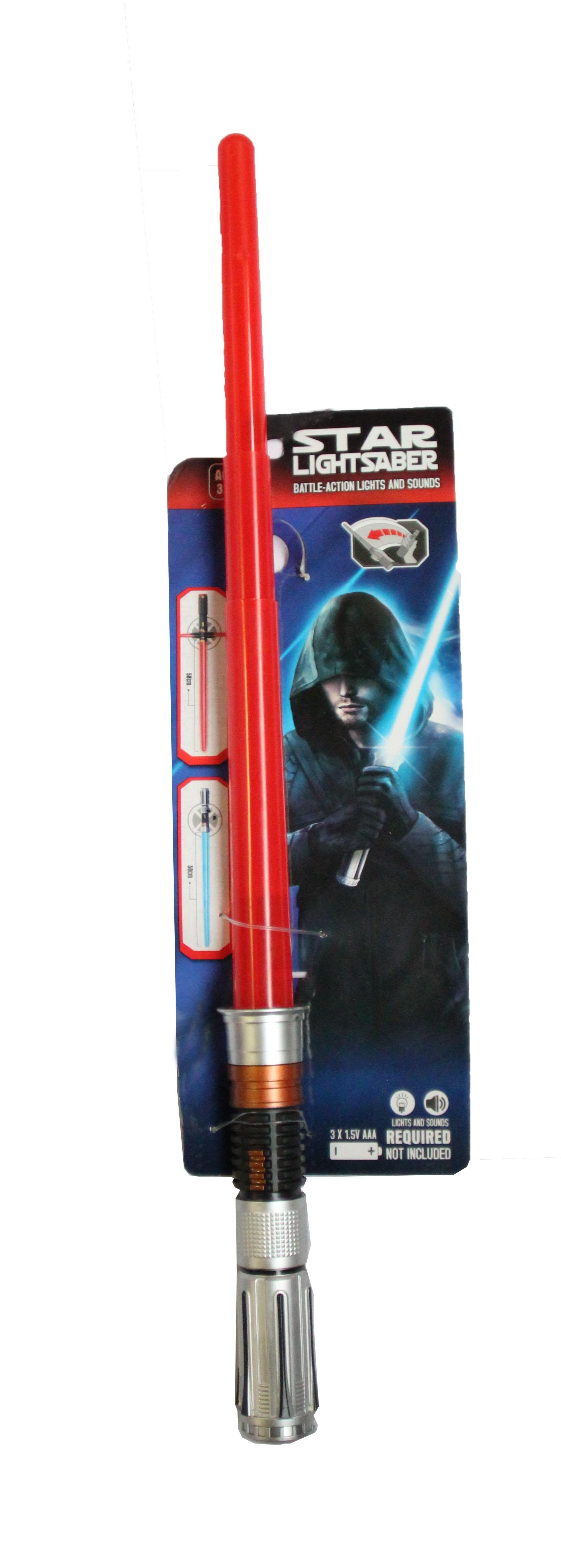 Красный световой меч Star Wars (UNI) - Бутафорское оружие