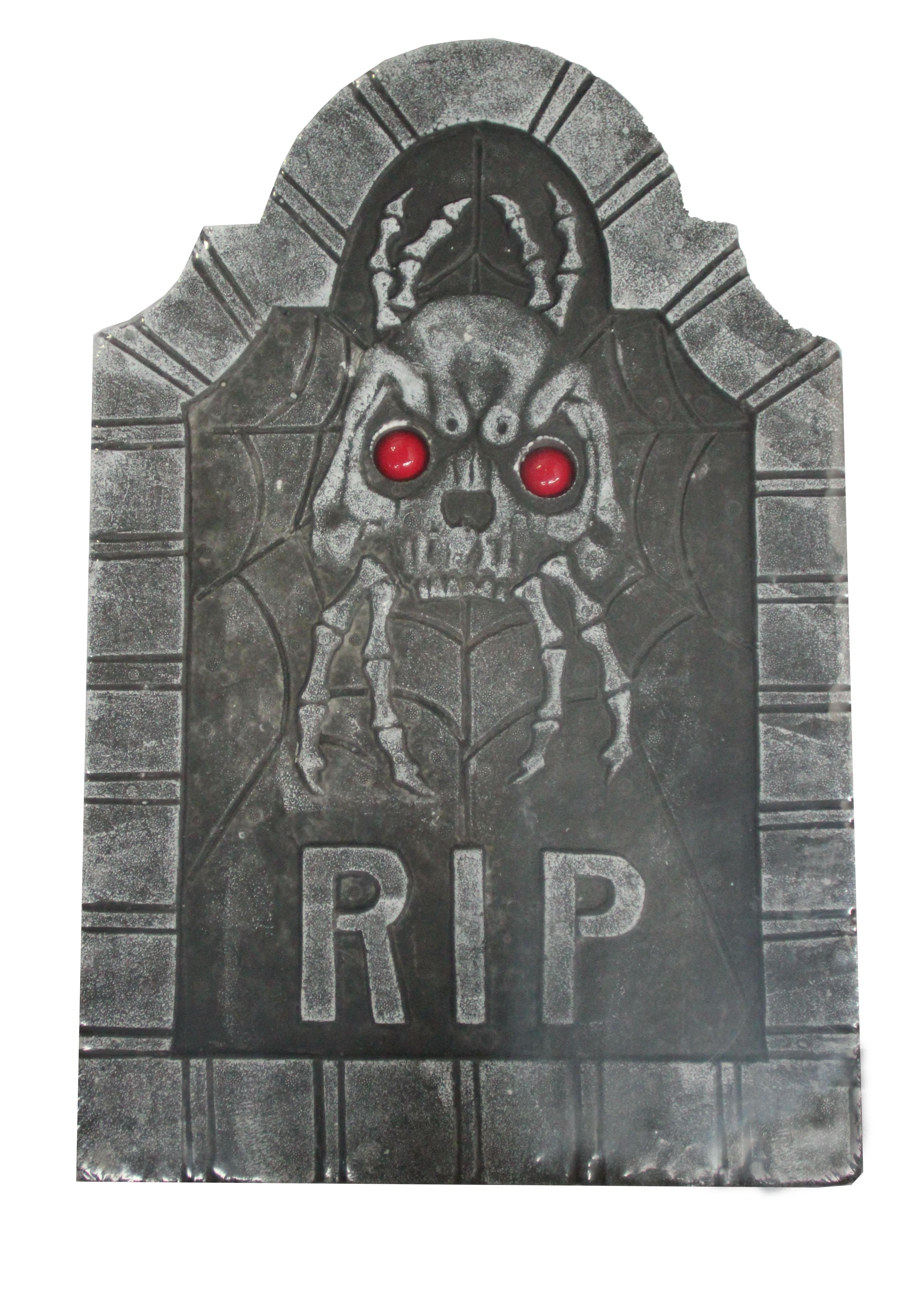 Надгробие с демоном (UNI) -  Аксессуары на Хэллоуин