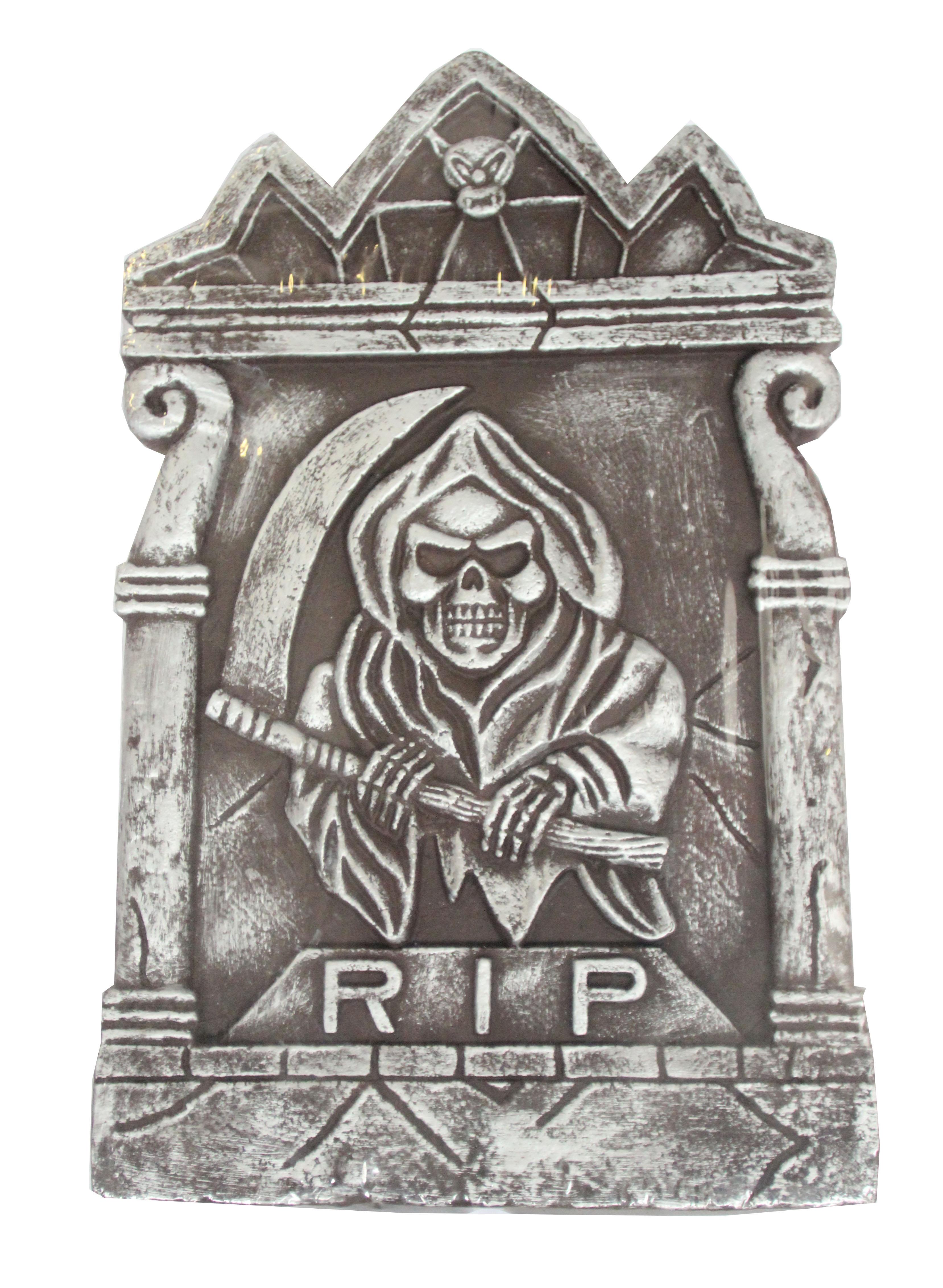 Надгробие Ужас с косой (UNI) надгробие с демоном uni