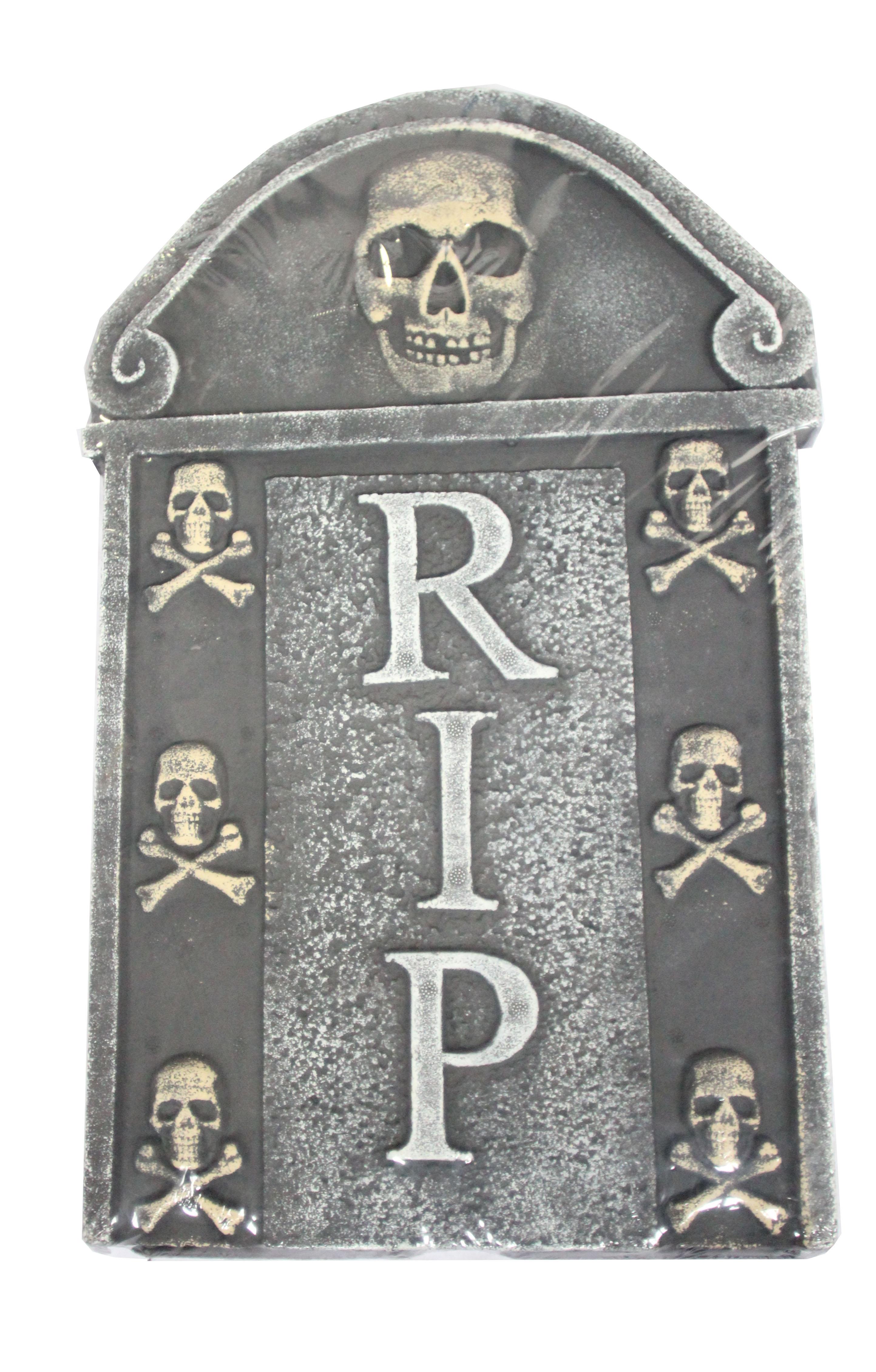 Надгробие с черепами (UNI) надгробие с демоном uni