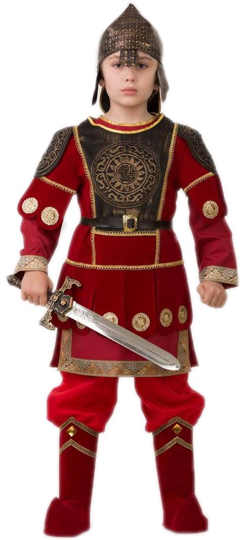 цены на Детский костюм Богатыря Добрыни (40) в интернет-магазинах