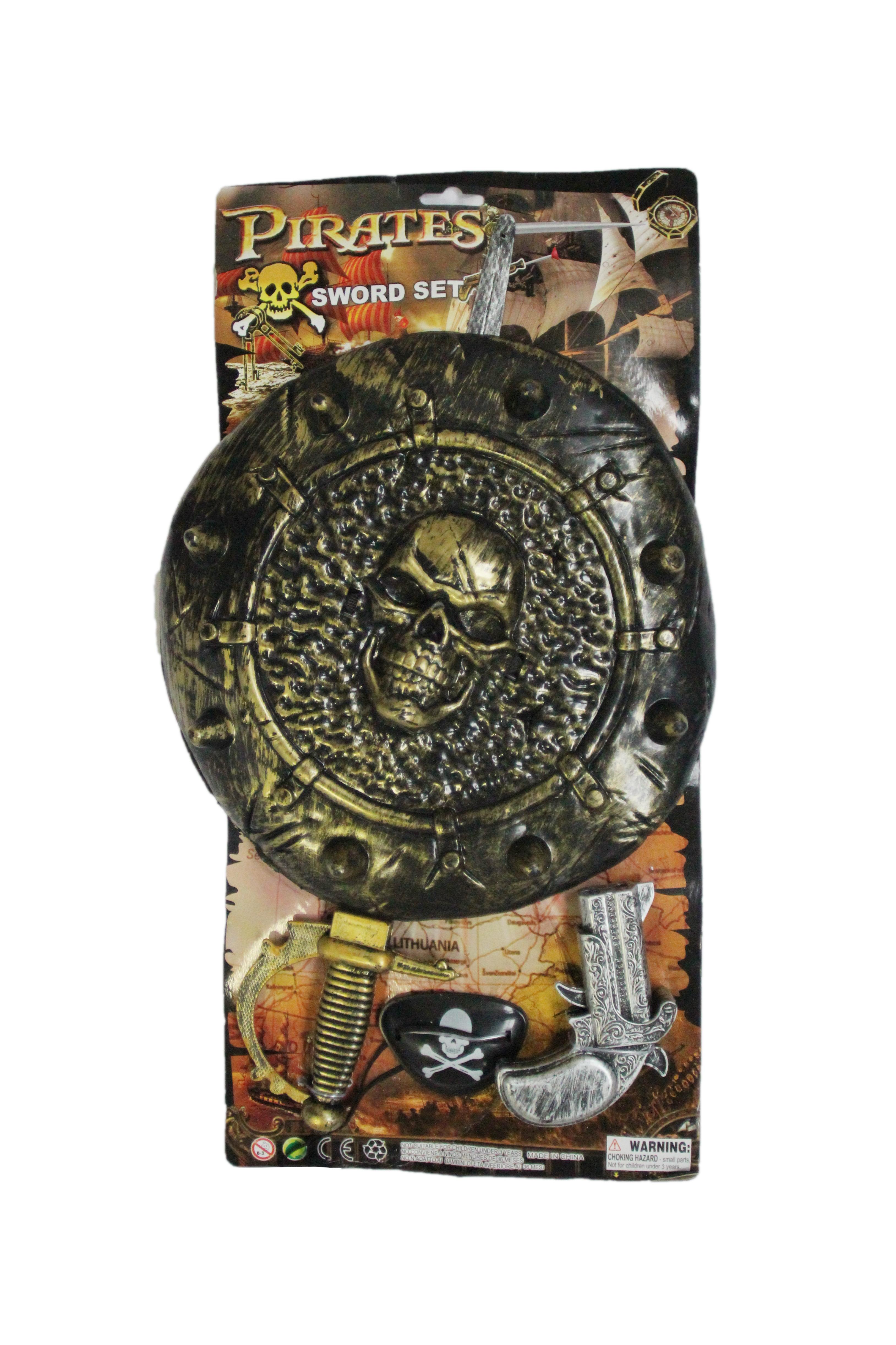 Детский набор оружия пирата (UNI) -  Аксессуары на Хэллоуин