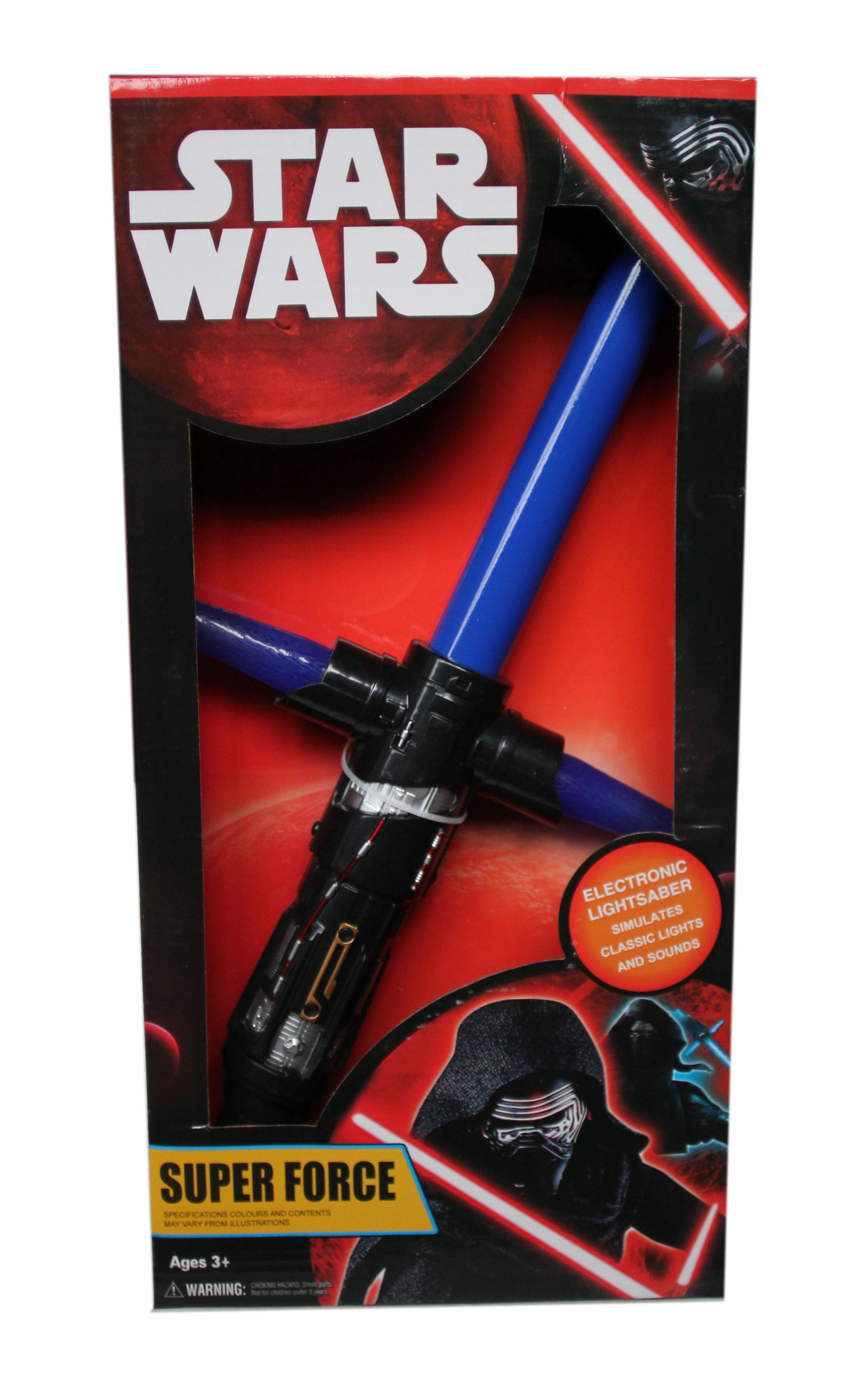Синий световой меч 48 см (UNI) - Бутафорское оружие