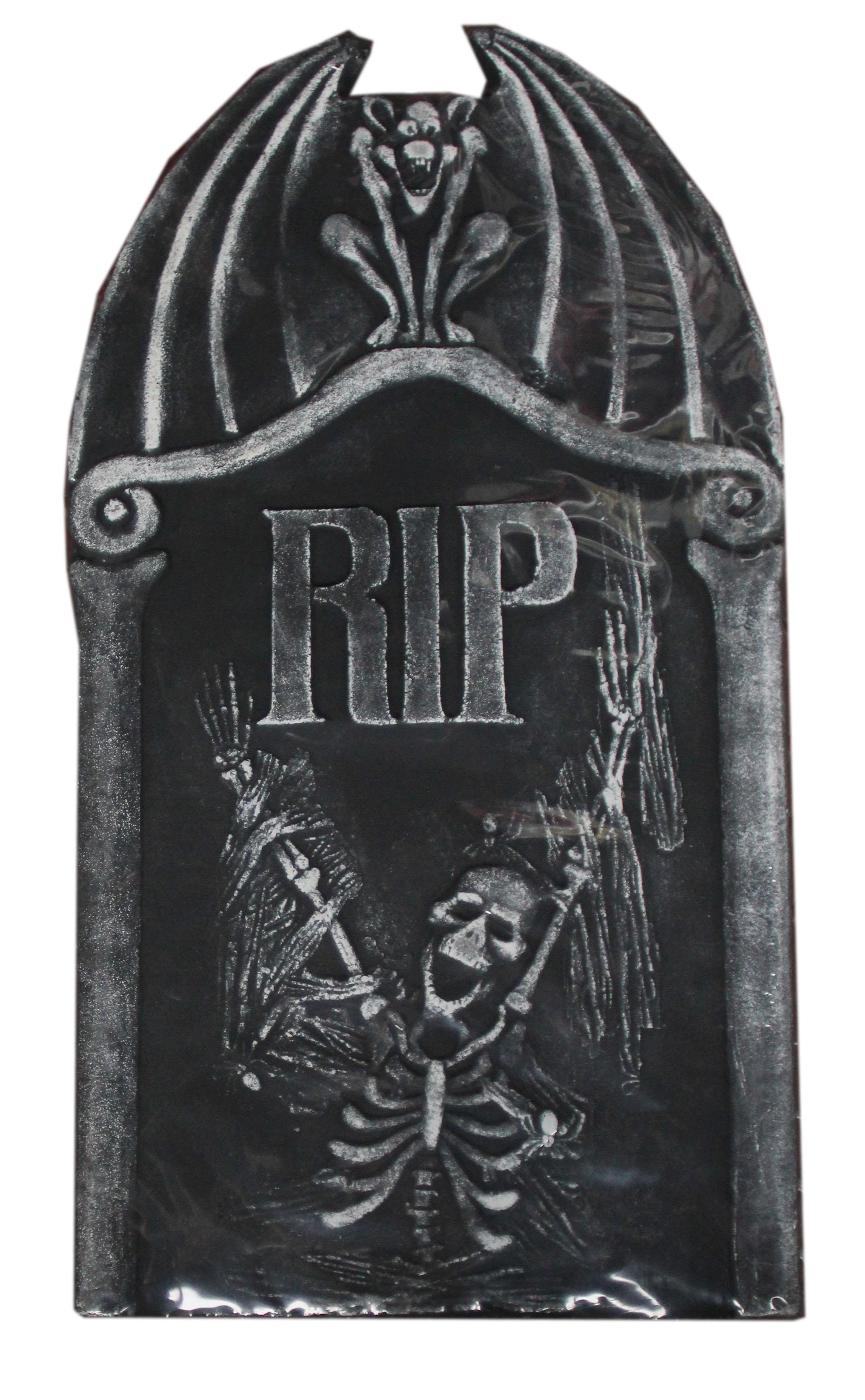 Надгробие Скелет RIP (UNI) надгробие с демоном uni