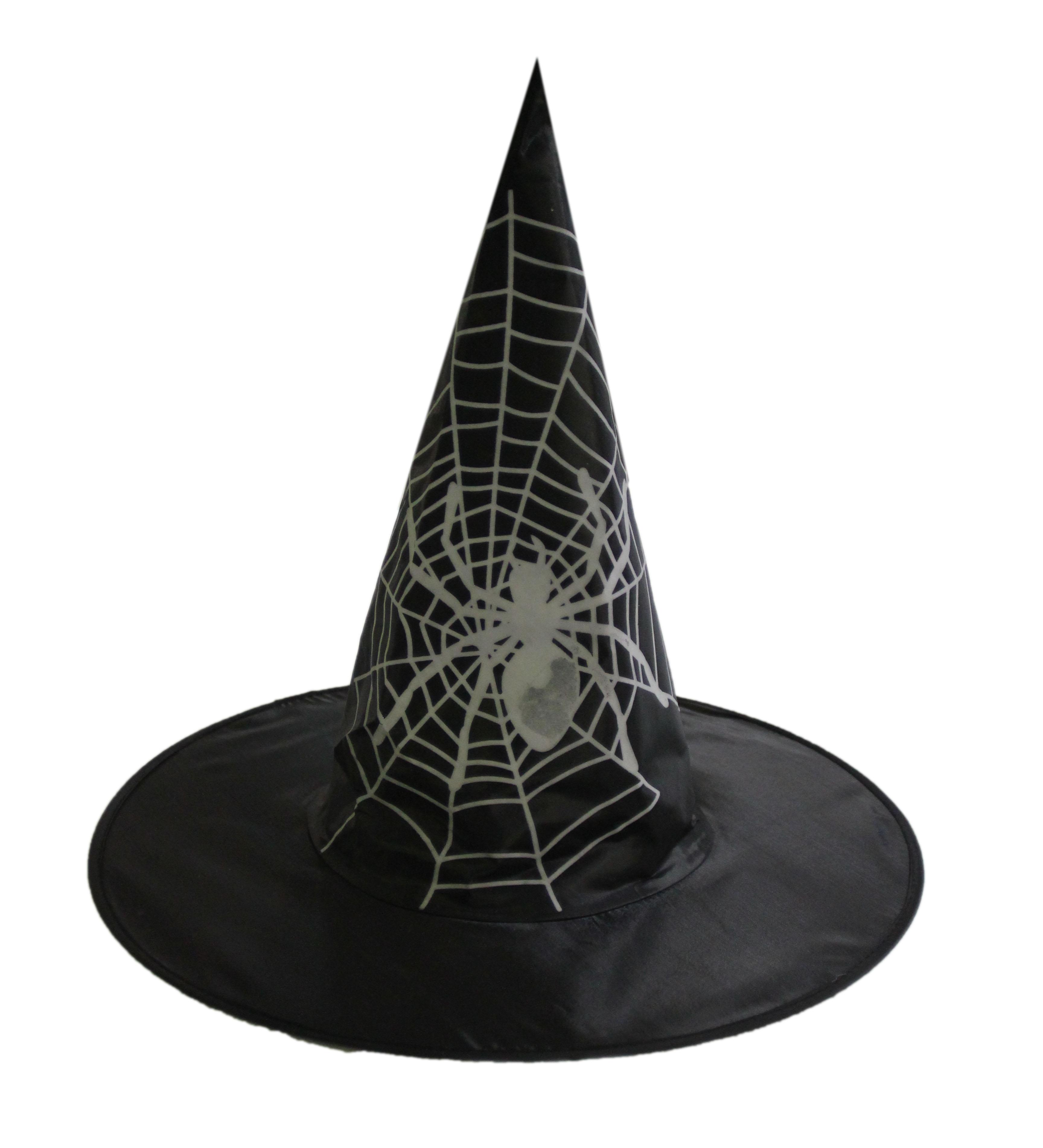 Шляпа ведьмы с паутиной (UNI) - Шляпа ведьмы
