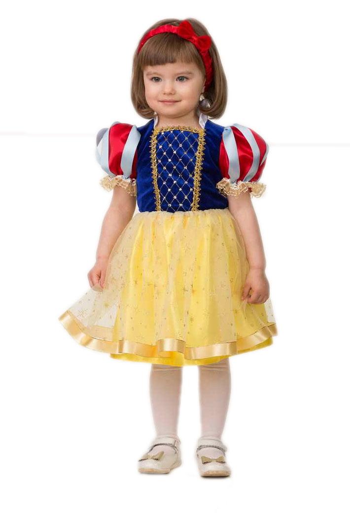 Детский костюм Белоснежки малышки (24) детский костюм малышки золушки 24