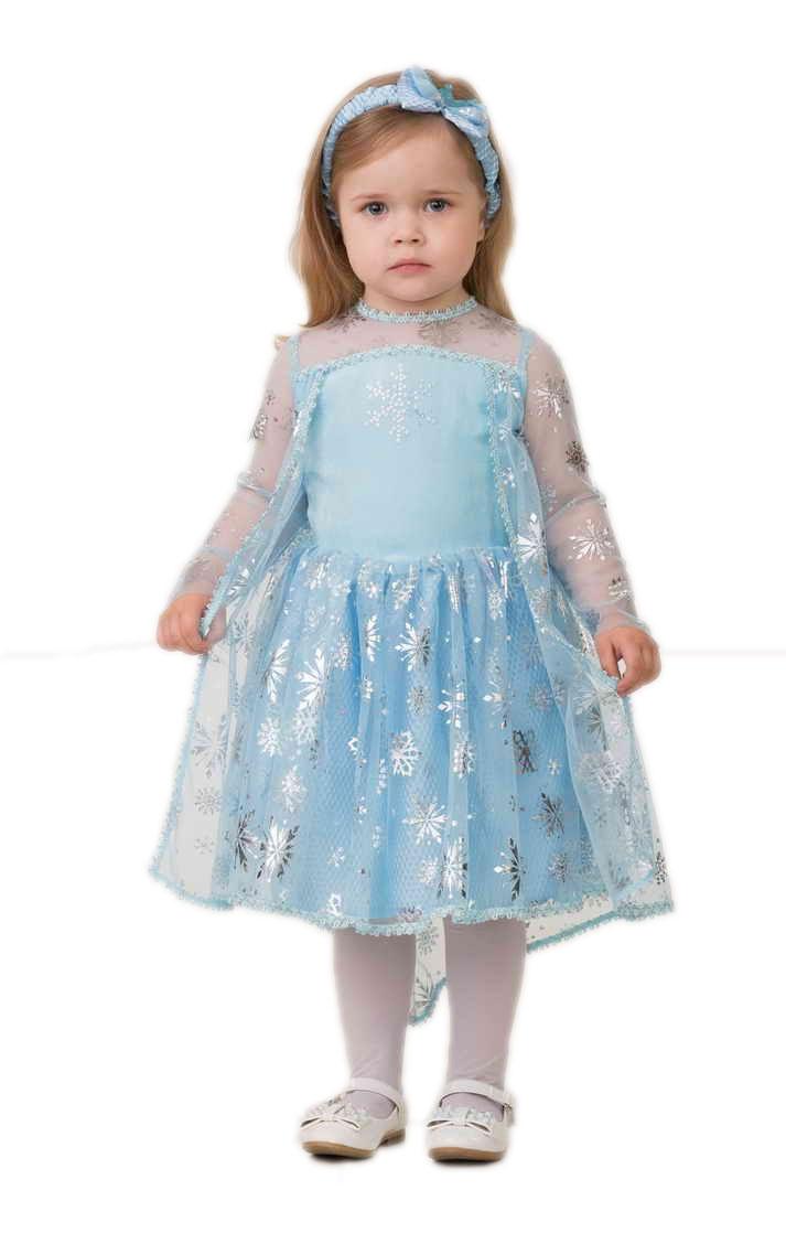 Детский костюм Эльзы малышки (24) детский костюм малышки золушки 24