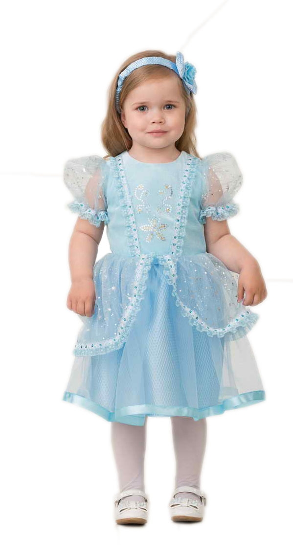 Детский костюм малышки Золушки (24) детский костюм золушки deluxe 26 28