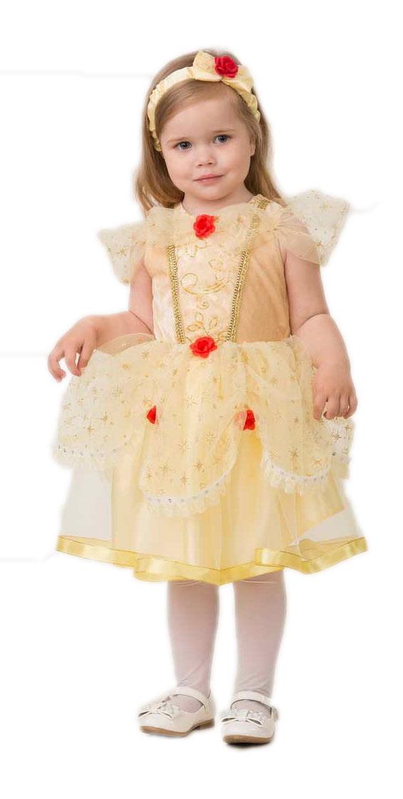 Детский костюм малышки Белль (24) детский костюм малышки золушки 24