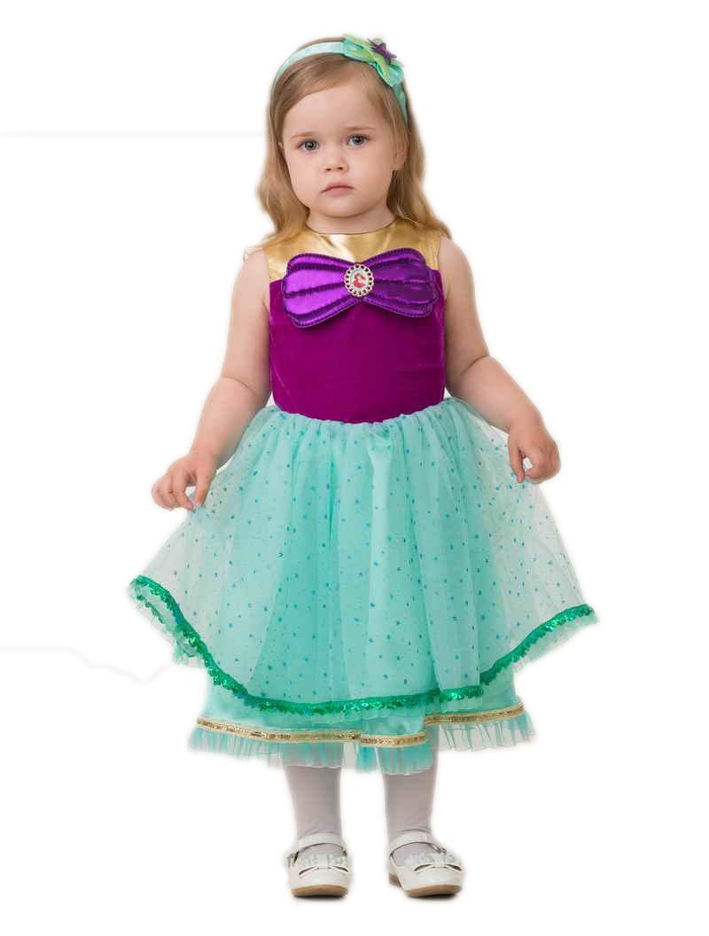 Детский костюм Принцессы Ариэль (24) детский костюм принцессы авроры 34