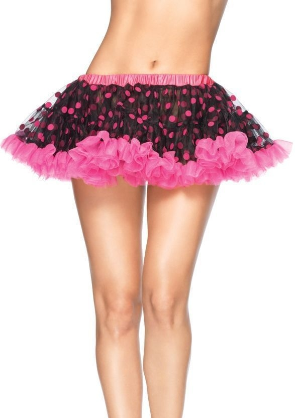 Розово-черный подъюбник (UNI) подъюбник accessories трехслойный черный 28см
