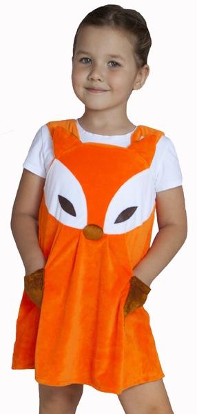 Детский костюм Лисички-сестрички (26) детский костюм озорного клоуна 34