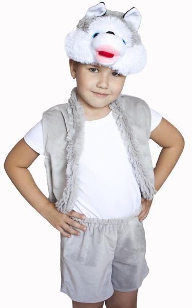 Детский костюм Собаки Хаски (24) - Животные и зверушки, р.24
