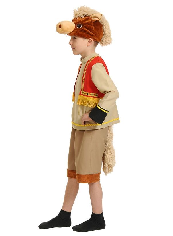 Детский костюм Конька Горбунка (28-32) детский костюм свеклы 28 32