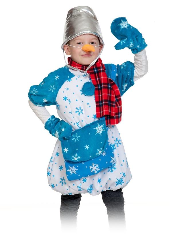 Детский костюм Снеговика Почтовика (28-32)