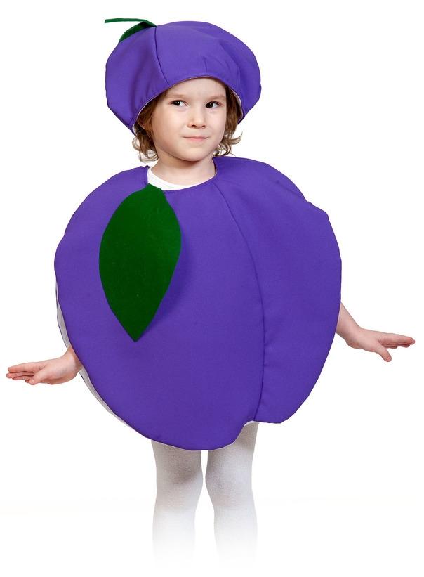 Детский костюм Сливы (28-32) детский костюм свеклы 28 32