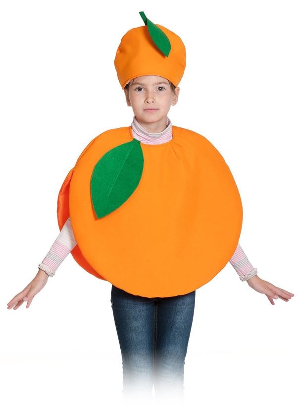Детский костюм Апельсина (28-32) детский костюм озорного клоуна 34