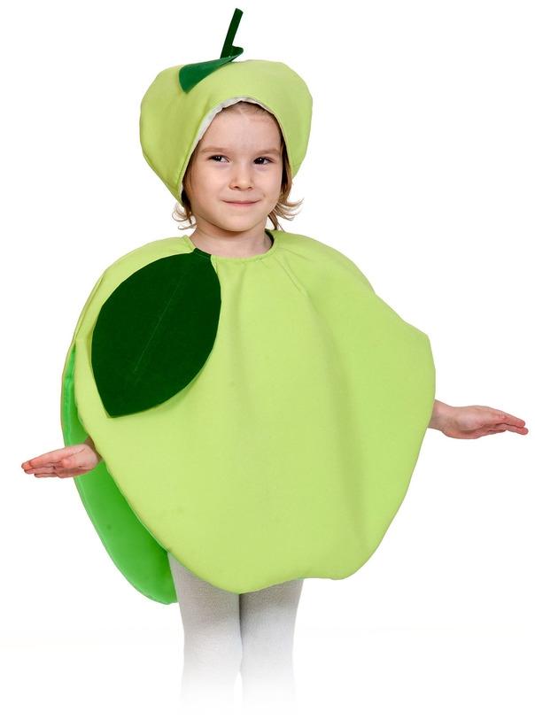 Детский костюм Яблока (28-32) детский костюм озорного клоуна 34