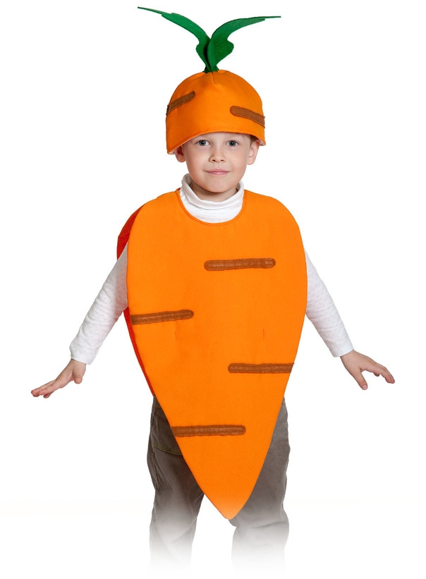 Детский костюм Моркови (28-32) детский костюм свеклы 28 32