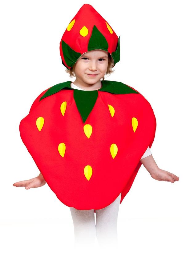 Детский костюм Клубники (28-32) детский костюм свеклы 28 32
