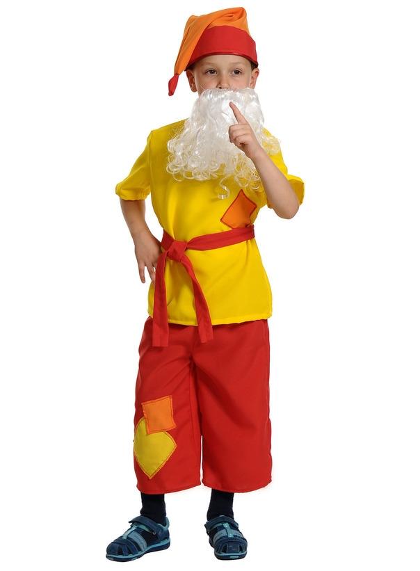 Детский костюм Гнома Скромника (30-32) костюм гнома для мальчика купить