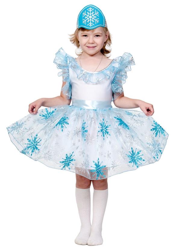 Детский костюм Голубой Снежинки (XS) - Новогодние костюмы