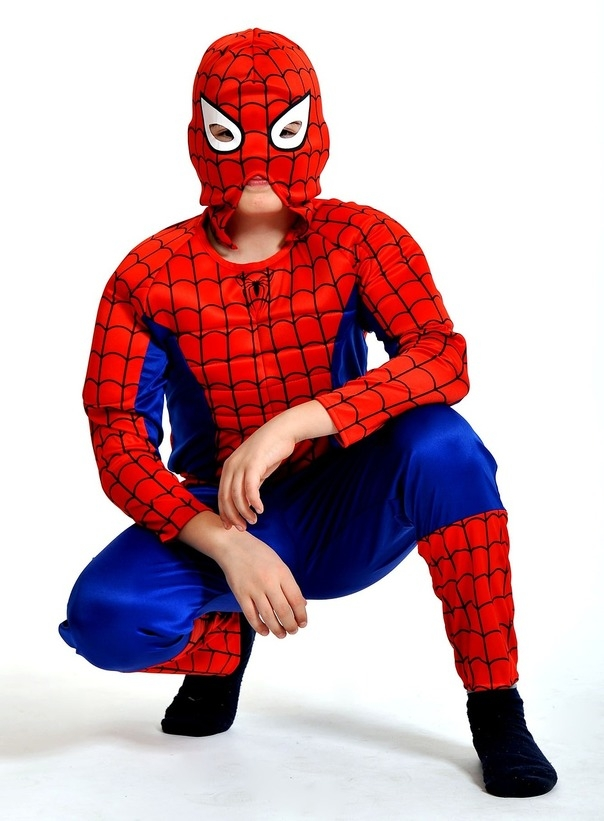 Детский костюм Паука Человека (38-40) - Супергерои и комиксы, р.38-40