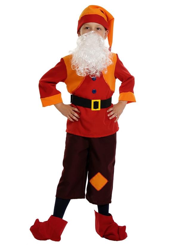 Детский костюм Гнома Смельчака (S) костюм гнома для мальчика в ярославле сегодня