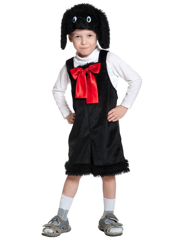 Детский костюм Черного пуделя (26) - Животные и зверушки, р.26