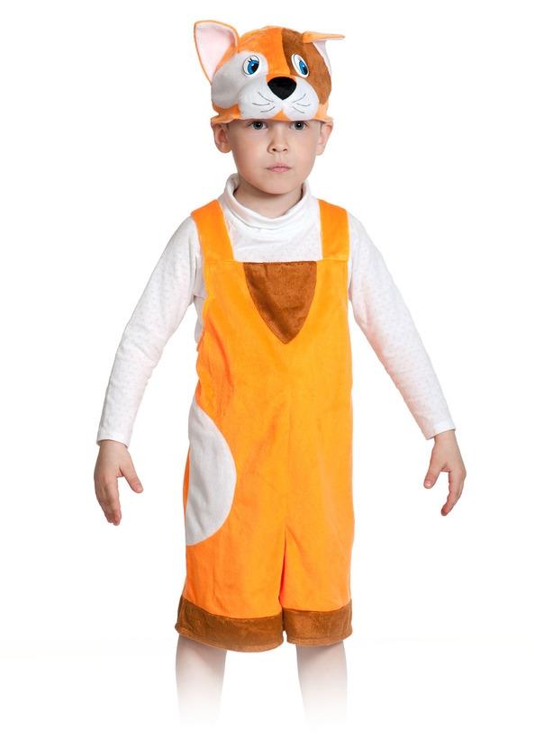 Детский костюм Рыжего котика (26-32) костюм маленькой снежинки 32