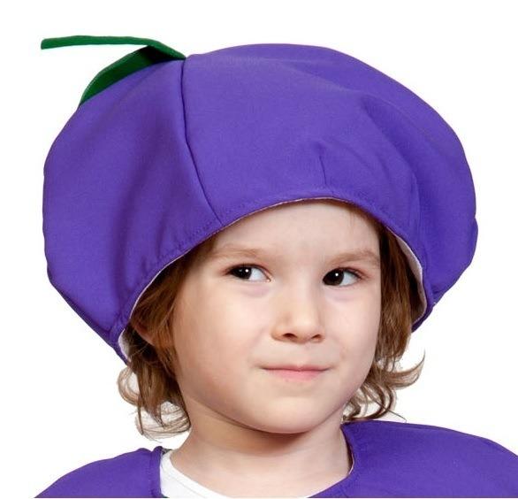 Детская шапка Слива (UNI) -  Шляпы карнавальные