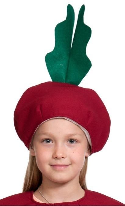 Детская шапка Свекла (UNI) свекла цилиндра семена