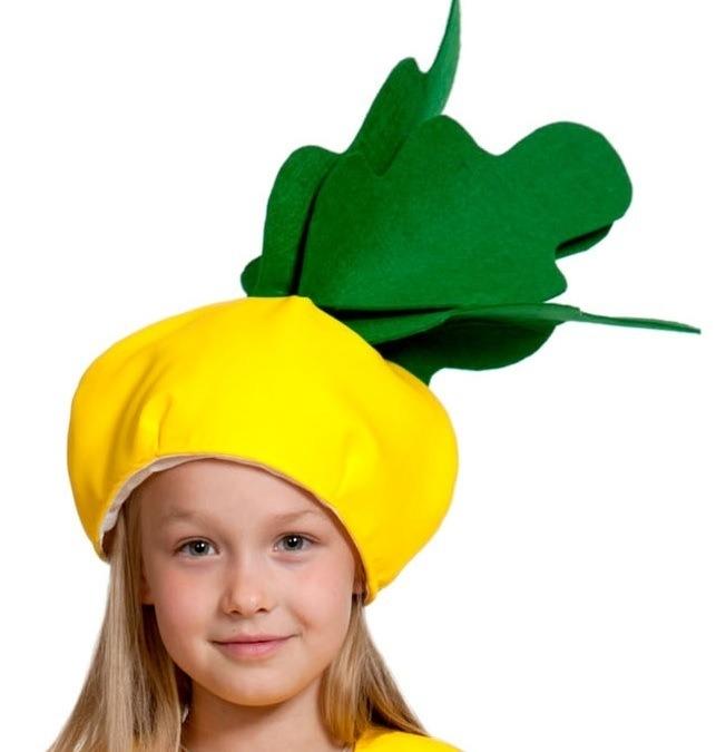Детская шапка Репка (UNI) -  Шляпы карнавальные