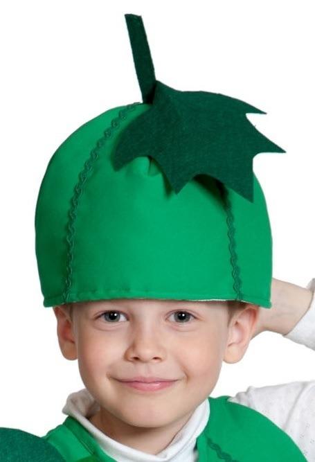 Детская шапка Огурец (UNI) -  Шляпы карнавальные