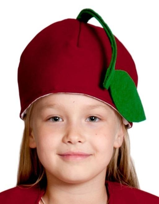 Детская шапка Вишня (UNI) -  Шляпы карнавальные