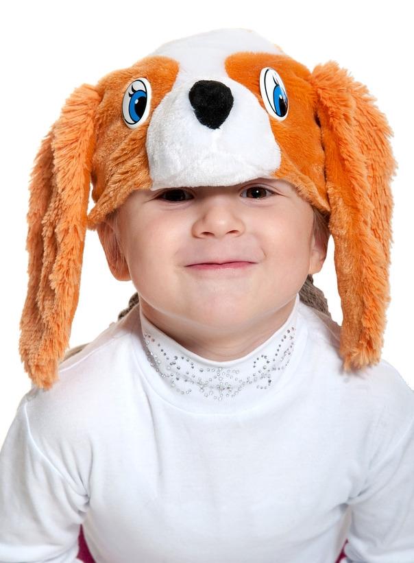 Детская маска Спаниэль (UNI) -  Животные и зверушки