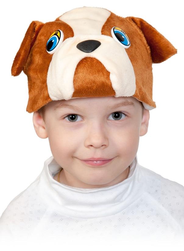 Детская маска Бульдога (UNI) плащ и маска черепашка ниндзя uni