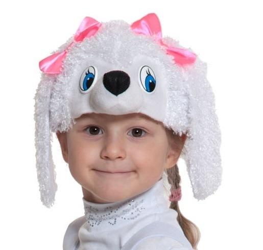 Детская маска Пуделя (UNI) плюшевая маска зайки uni