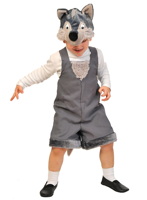 Детский костюм Волка (26) - Животные и зверушки, р.26