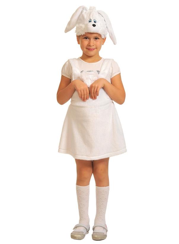 Детский костюм Белой Зайки (26)